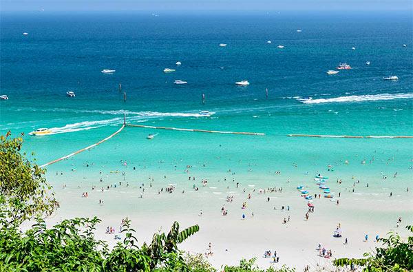 Bãi biển Pattaya Thái Lan