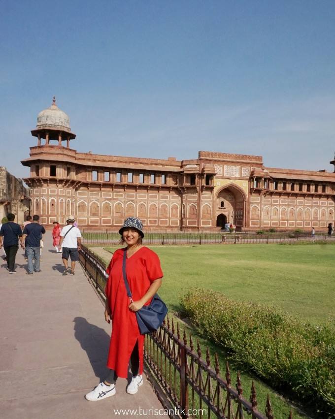 Ada apa di agra fort india