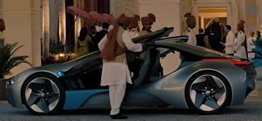 Bmw I8 6 Series Convertible In Mission Impossible 4 Movie
