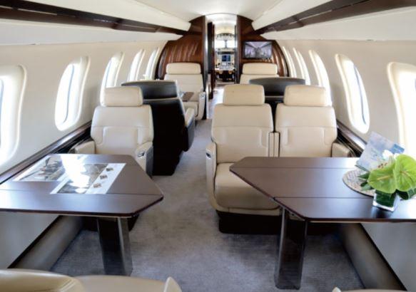Bombardier Global 7500 cabin
