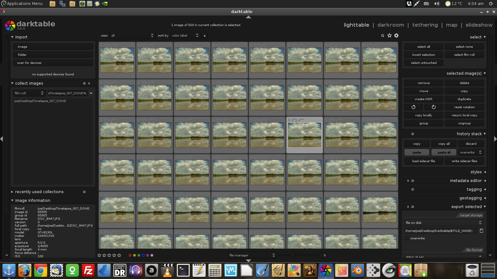 Joe Giampaoli: Time-lapse Photography with Linux