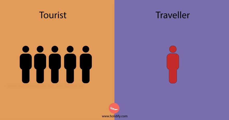 #3 Tourist Vs Traveller - 10+ Differences Between Tourists And Travellers
