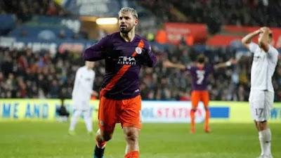 «Ман Сити» отыгрался с 0:2 в матче с «Суонси» и вышел в полуфинал Кубка Англии