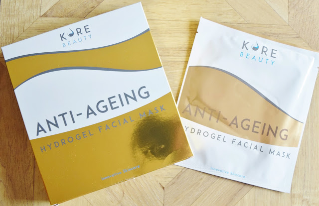 Kore Beauty Anti-Ageing Hydrogel Facial Masks