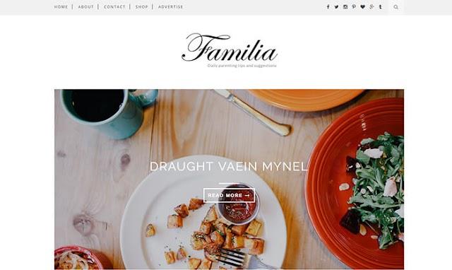 Theme Blogger Familia