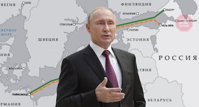 """Путін оголосив про завершення прокладання першої нитки """"Північного потоку-2"""""""