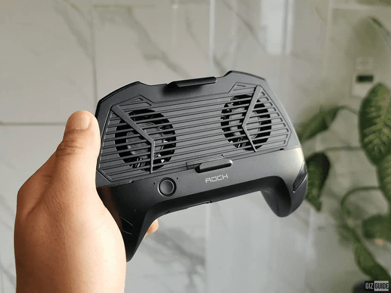 Heat-Dissipation Game Grip