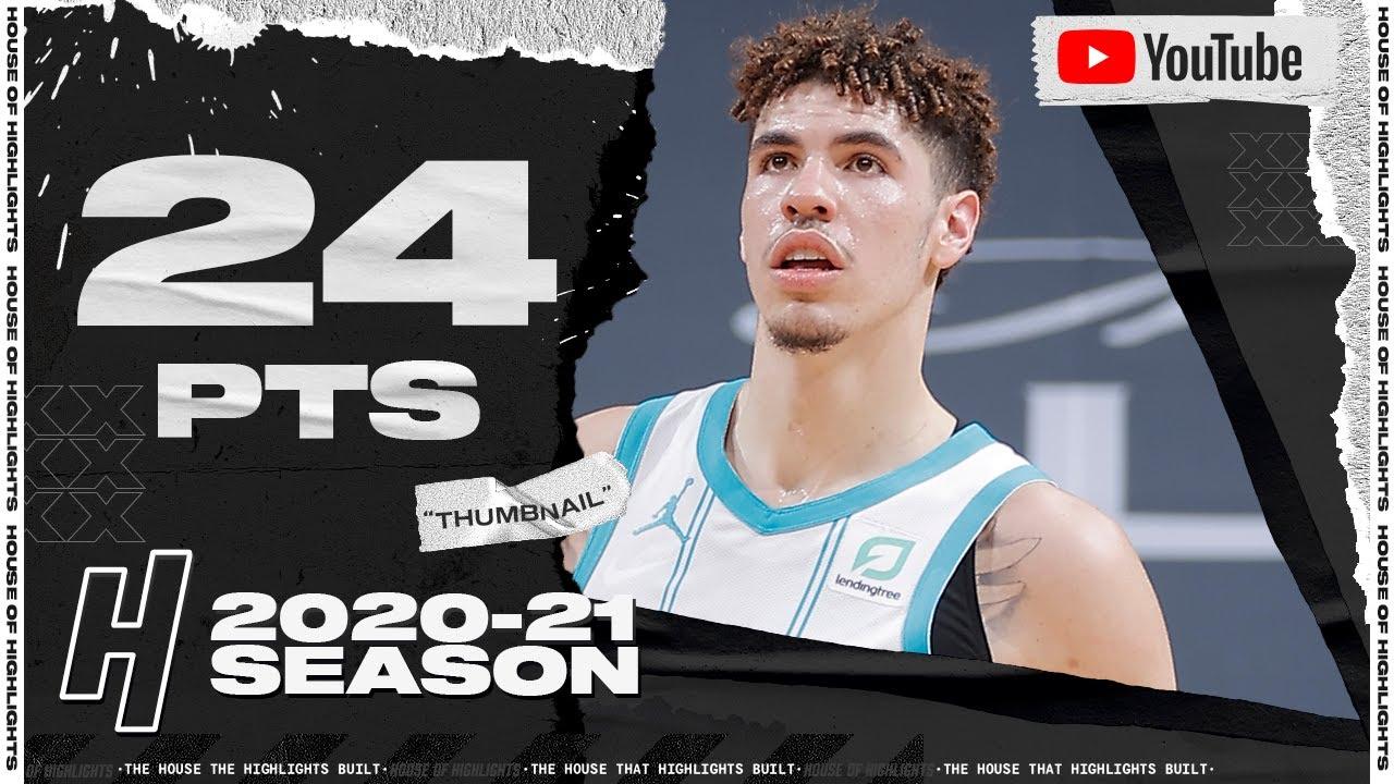 LaMelo Ball 24pts 4reb 12ast vs SAC | February 28, 2021 | 2020-21 NBA Season