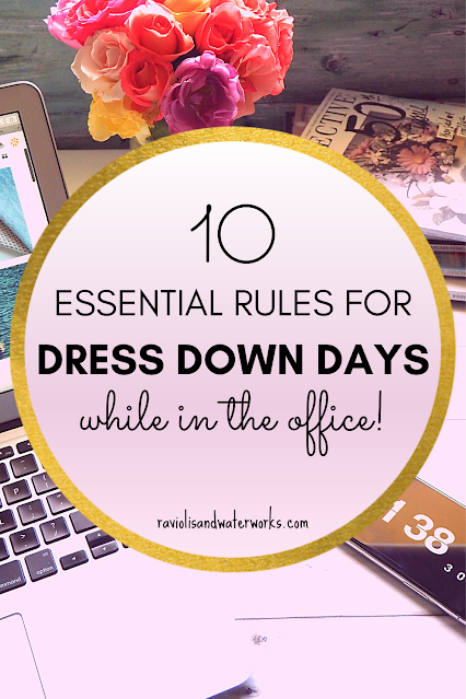 how to dress for dress down days in the office