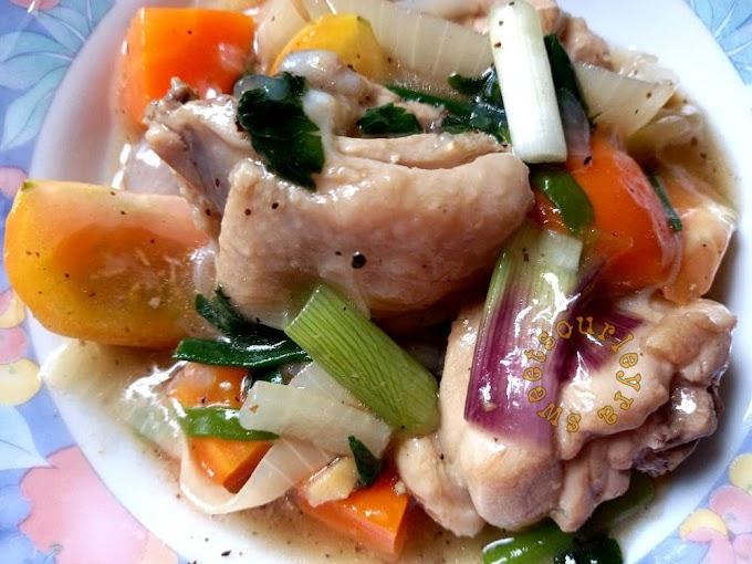 Resepi Stew Ayam Cepat Dan Sedap