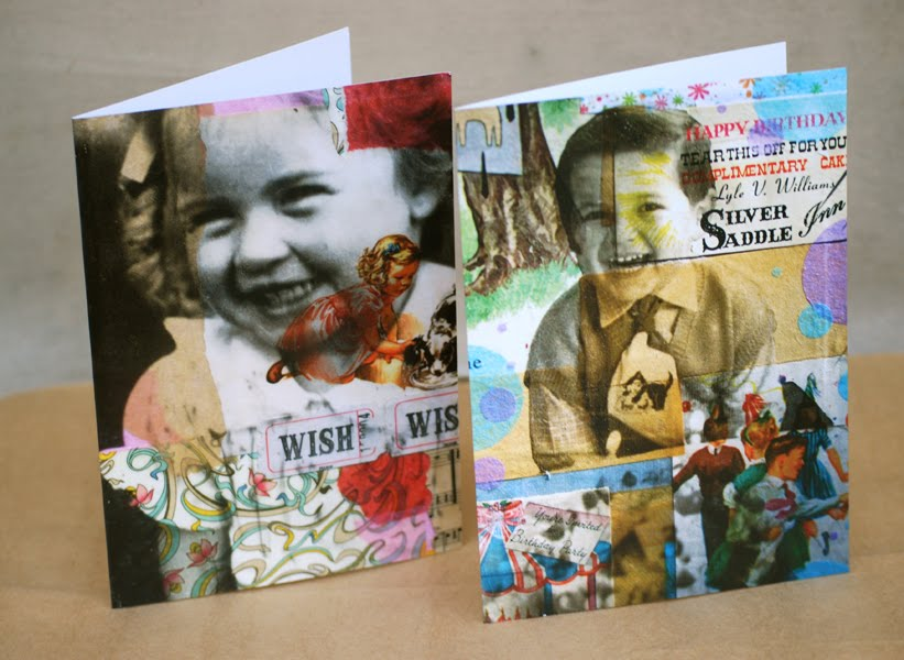 MICHELLE CAPLAN Mixed Media Collage Artist