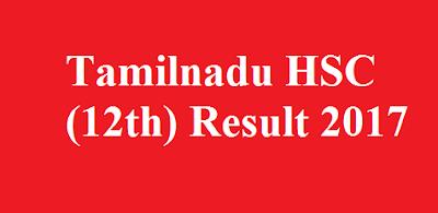 Tamilnadu 12th result 2017