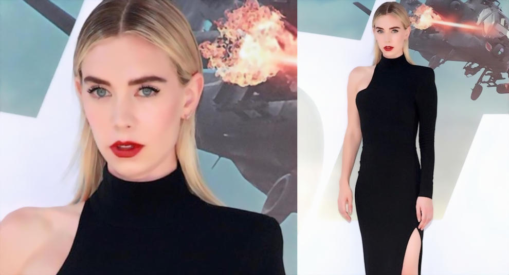 Vanessa Kirby Looks So Hot in Party Dress