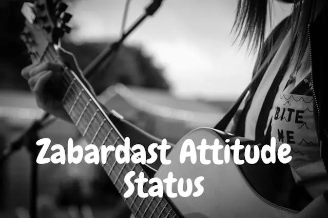 200+ Faadu Zabardast Attitude Status in Hindi