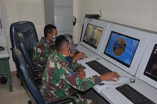 Korps Pelaut Gunakan Simulator Anjungan