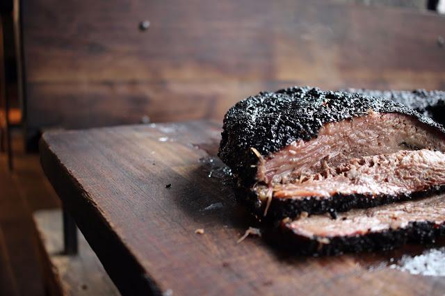 Beef brisket at Smokestak