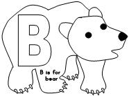 Have Fun Learning English: The letter B