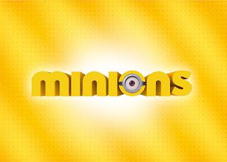 Para hacer invitaciones, tarjetas, marcos de fotos o etiquetas, para imprimir gratis de Película de los Minions