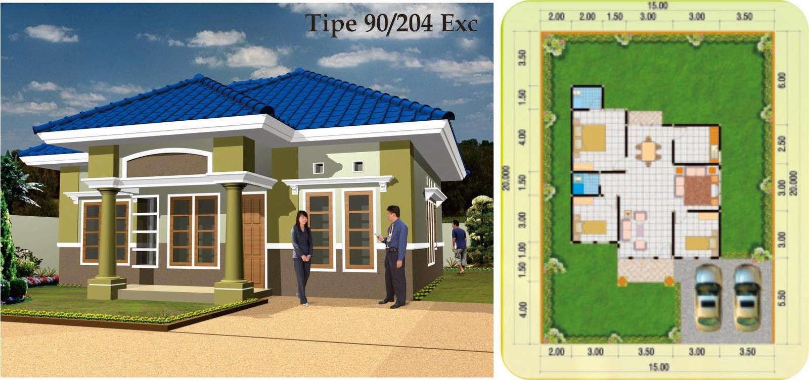 Gambar Dan Denah Rumah Minimalis Modern Home Design 86