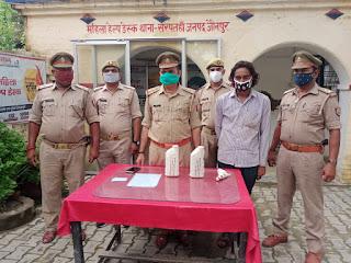 #JaunpurLive : अवैध तमंचे व चोरी के माल के साथ वाञ्छित अभियुक्त गिरफ्तार
