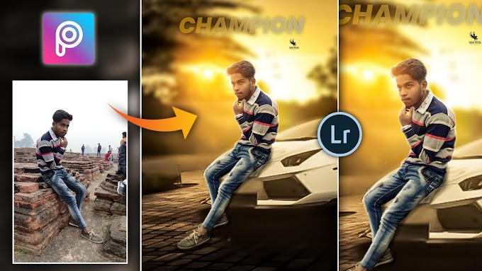 Car Photo Editing background and png