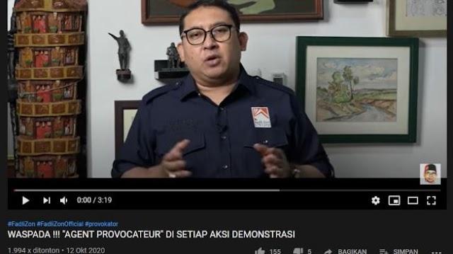 Diduga Sebar Video Porno, Fadli Zon Resmi Dilaporkan ke Bareskrim Polri