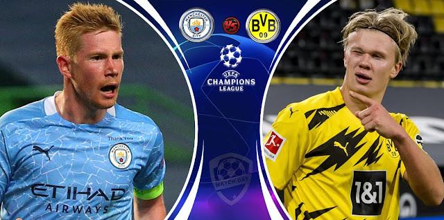 Manchester City vs Borussia Dortmund Prediction & Match Preview