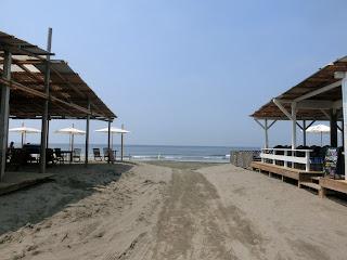 材木座海水浴場