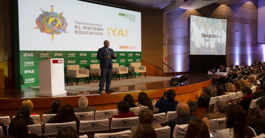MINEDU: Ministro Alfaro presenta las prioridades de la agenda educativa - www.minedu.gob.pe