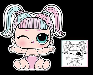 Desenhos Para Colorir Das Bonecas Lol Surpresa Como Fazer