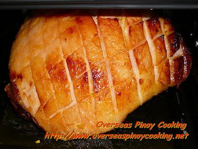 Orange Glazed Ham Baking Procedure
