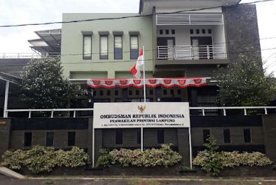 Progres Kinerja Ombudsman RI Kantor Perwakilan Lampung
