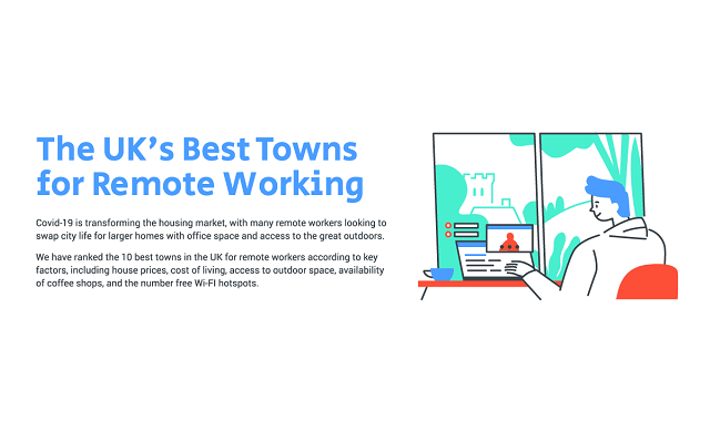 Best UK towns for remote working