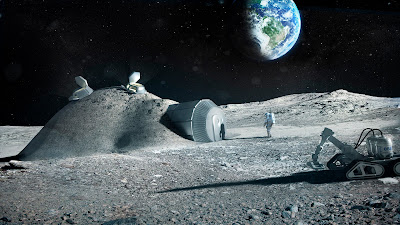 lunar research station
