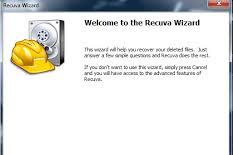 Cara mengembalikan file menggunakan recuva