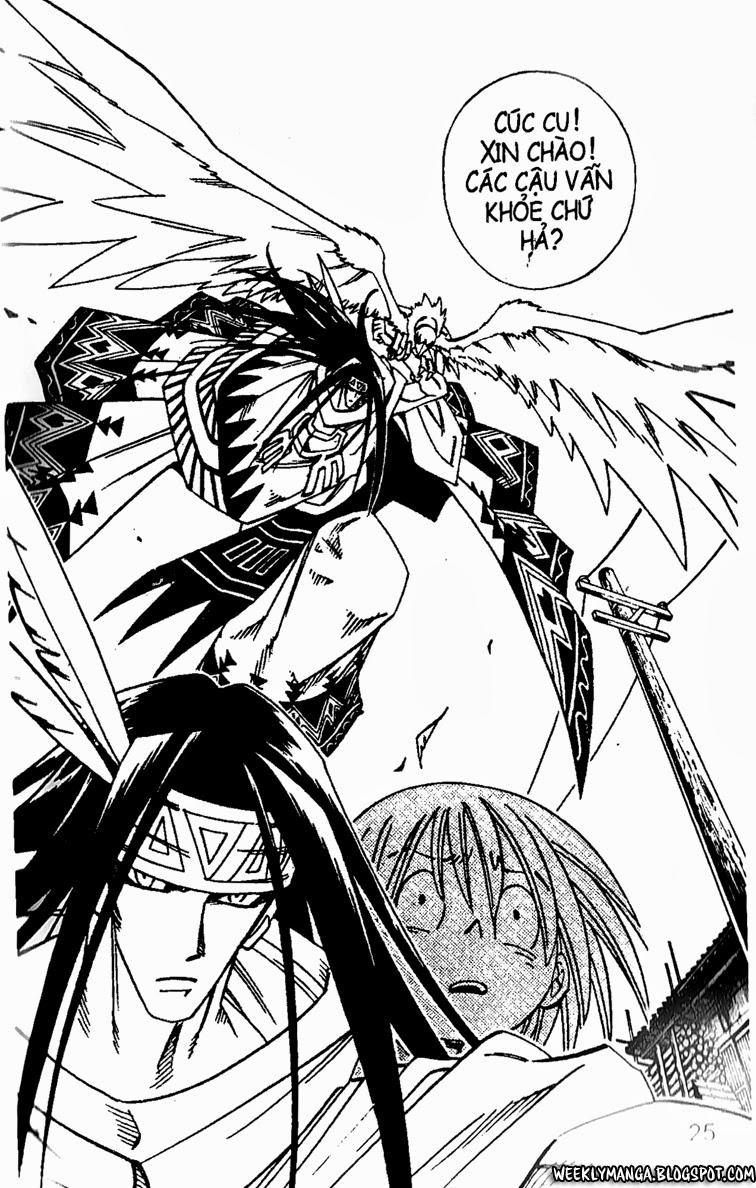 Shaman King [Vua pháp thuật] chap 149 trang 1
