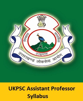Ukpsc Assistant Professor Syllabus 2017 And Exam Pattern