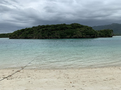 川平湾の白浜