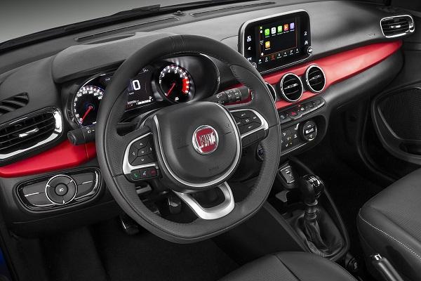 Interior Fiat Argo HGT 2019
