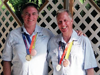 Chuck and Lance Bronze Medalists