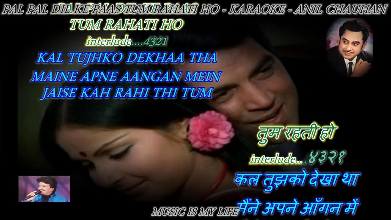 Pal Bhar Ke Liye Koi Hame Pyar Kar Le Hindi Lyrics