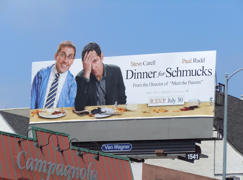 Dinner for Schmucks billboard