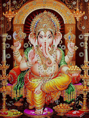 श्री गणपति सहस्रनाम स्तोत्रम् Ganesha Sahasranama Stotram Hindi Lyrics