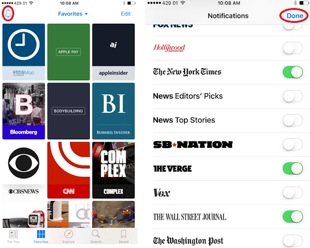 How to Disable Apple News Notifications for Specific Channel on iPhone Step 1: Launch the News app on iPhone or iPad. Step 2: Switch to the Favorites tab.