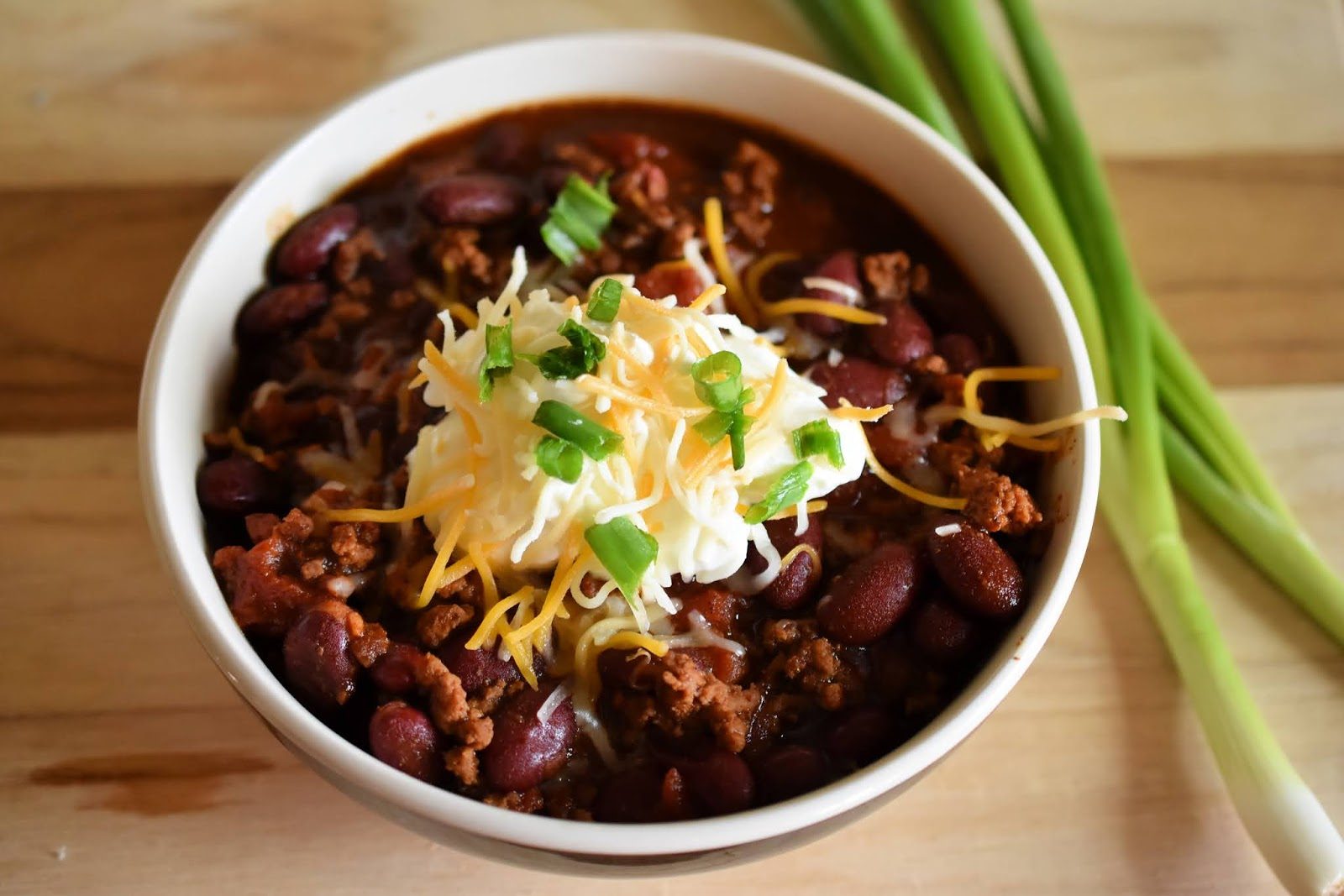 Chili using Laura's Lean Beef