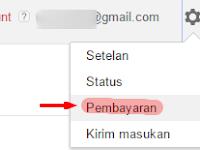 Informasi tentang cara pembayaran Google Adsense.