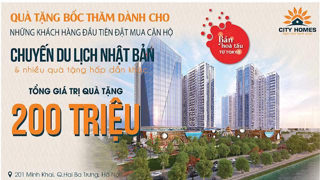 Dự án Hinode City Minh Khai