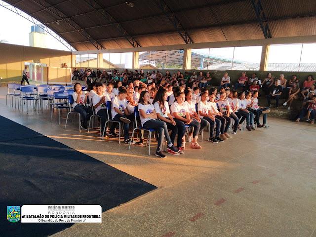 Formatura de alunos Proerd, marca o encerramento do primeiro semestre de 2019