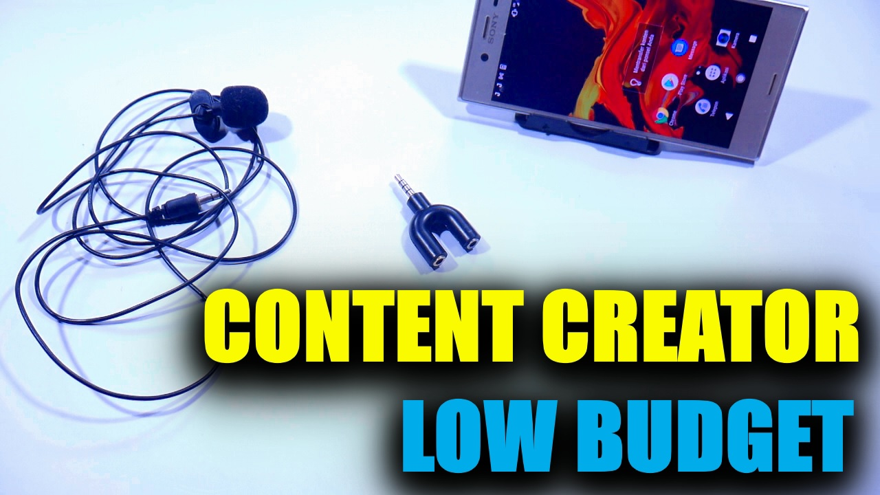 budget alat content creator