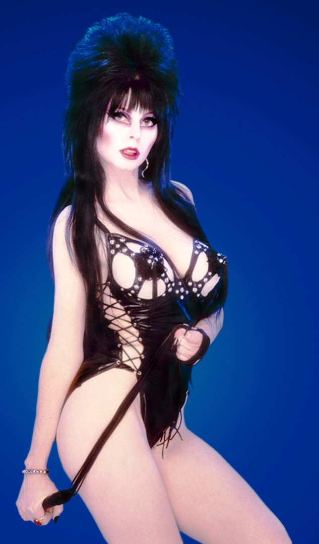 Apologise, but, Elvira mistress of the dark phrase